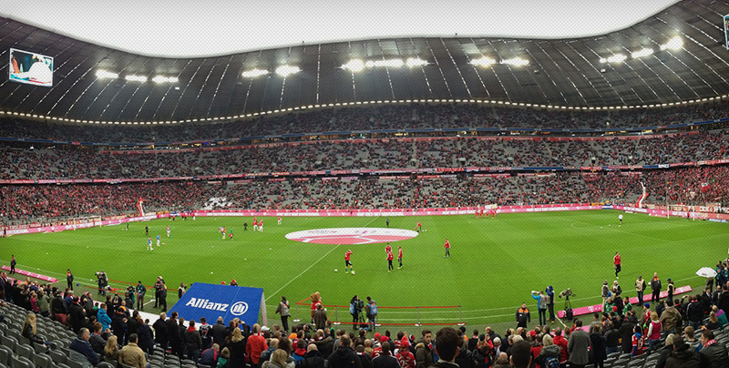 Audi Cup in der Allianz Arena