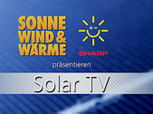 Sharp Solar TV