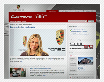 Porsche starts new intranet based on social business platform