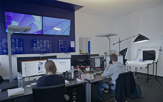Blue Content Newsroom